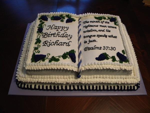 Bible Birthday Cakes