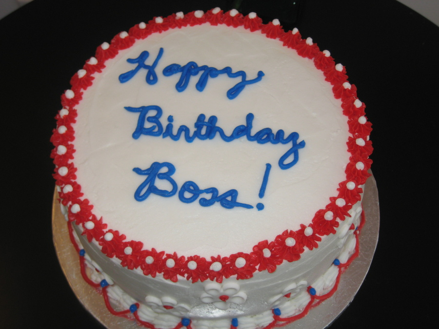 Boss Birthday Cakes