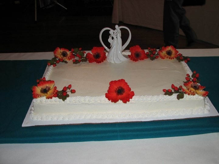 Sheet Wedding Cakes