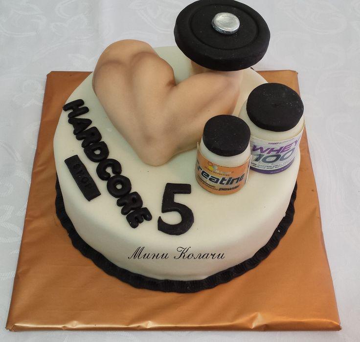Body Builder Cake Decorations