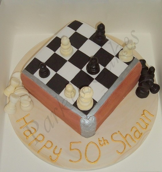 Chess Birthday Cakes