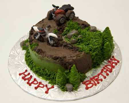 Quad Birthday Cakes