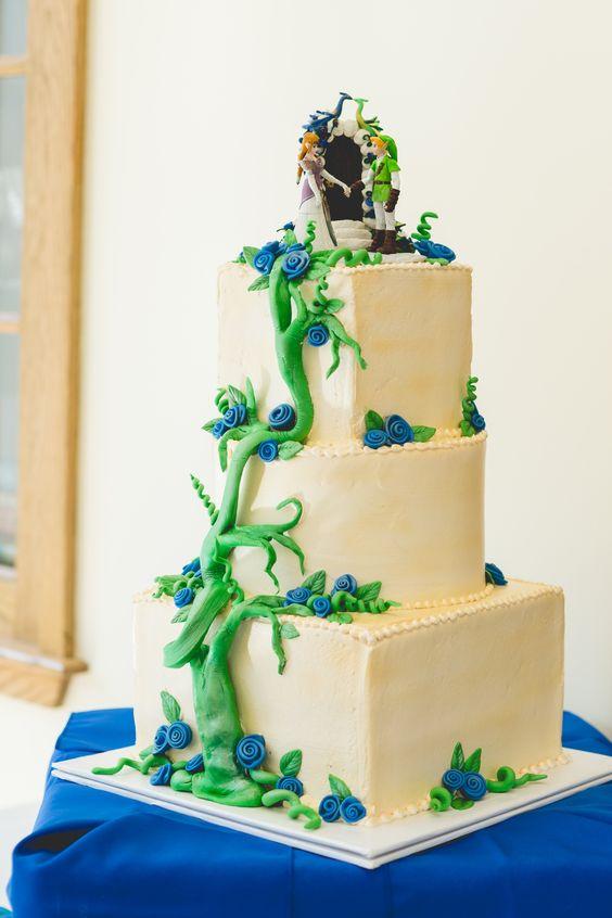 Zelda Wedding Cakes