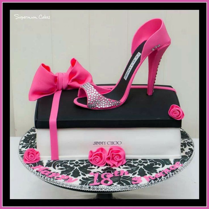Shoes Birthday Cakes