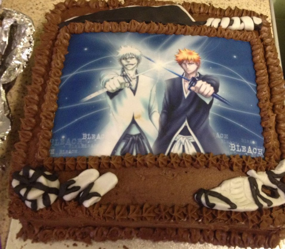Bleach Birthday Cakes