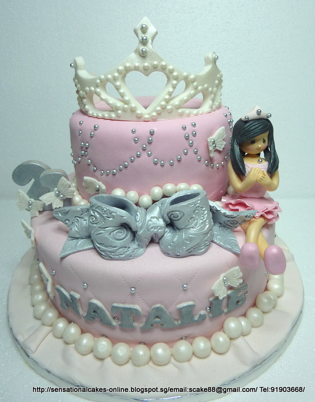21ST BIRTHDAY THEME Sensational Cakes Singapore 18