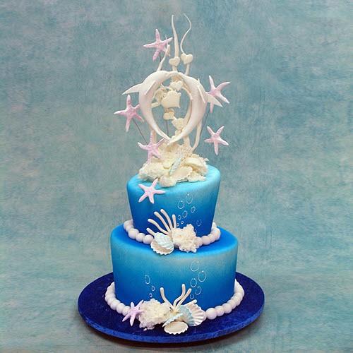Dolphin Wedding Cakes