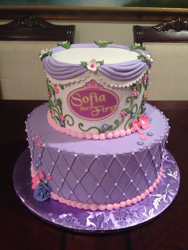Sofia Birthday Cakes