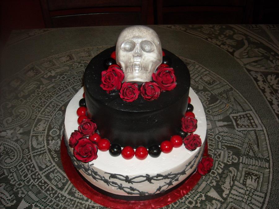 Skull Birthday Cakes
