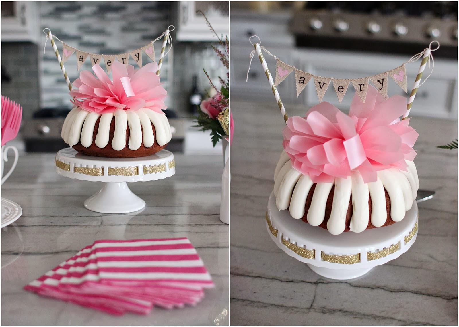 Bundt Birthday Cakes