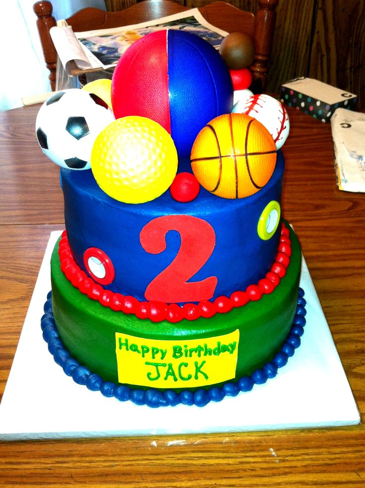 Ball Birthday Cakes