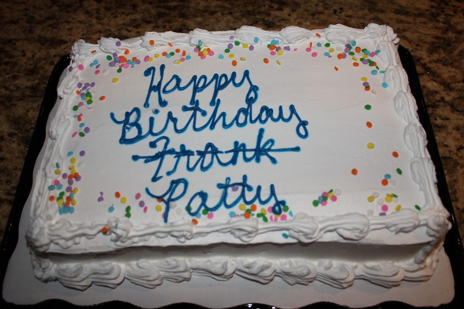 Patty Birthday Cakes