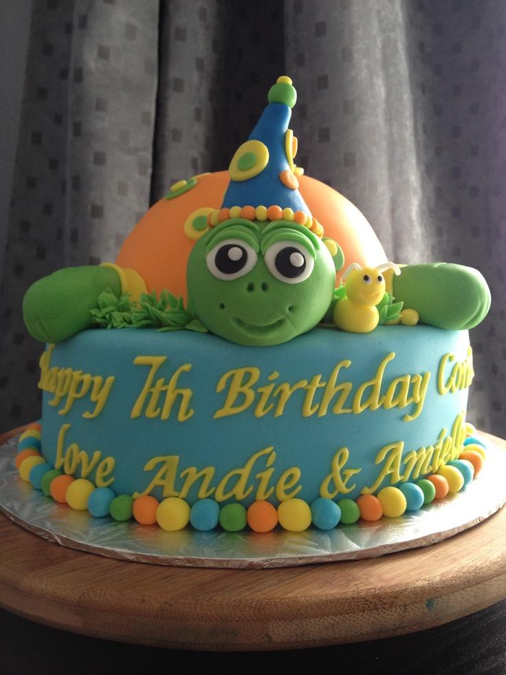Turtles Birthday Cakes
