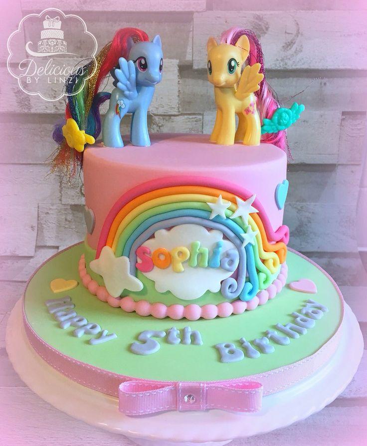 Mlp Birthday Cakes