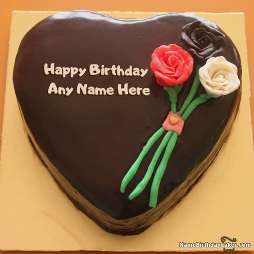Birthday Cakes For Friend With Name And Photo Top HBD Images