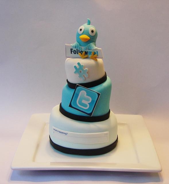 Twitter Birthday Cakes