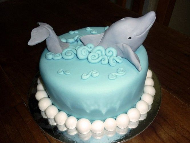 Dolphin Birthday Cakes
