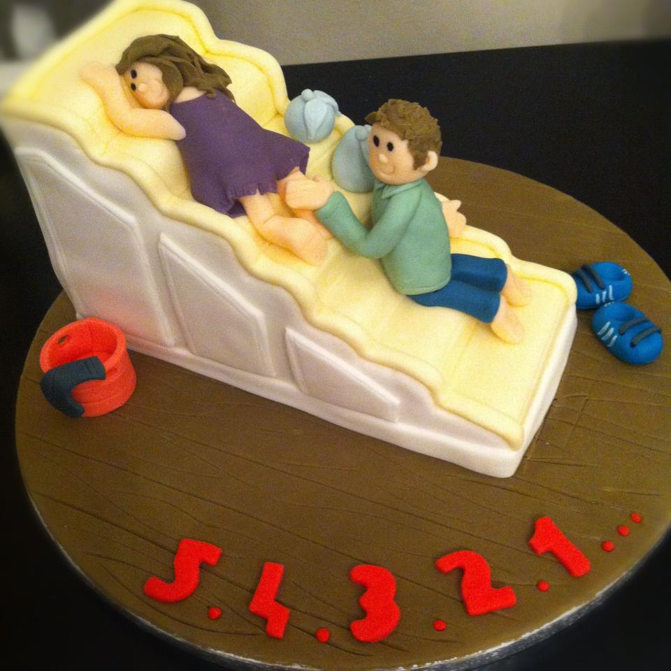 An unusual and insanely delicious birthday cake