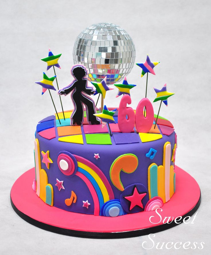 Disco Birthday Cakes