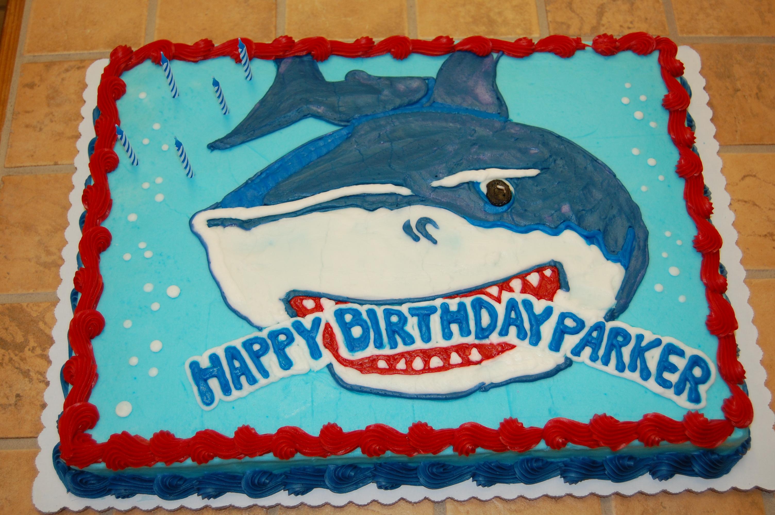 Shark Cake Template Ideas Jpg 3008x2000