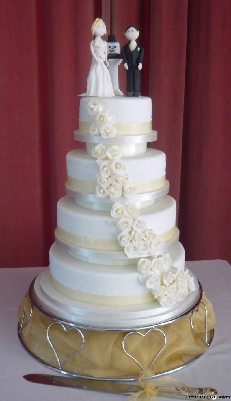 Stacked Wedding Cakes Isle Of Wight Cake Makers
