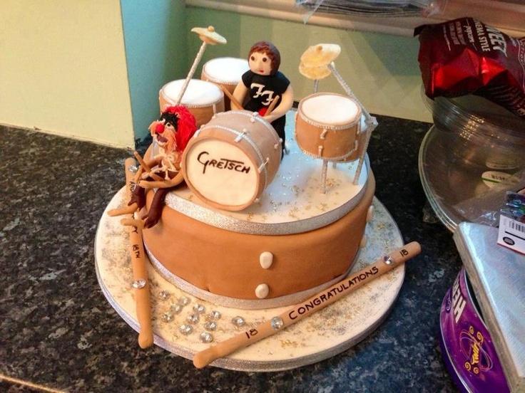 Drums Birthday Cakes
