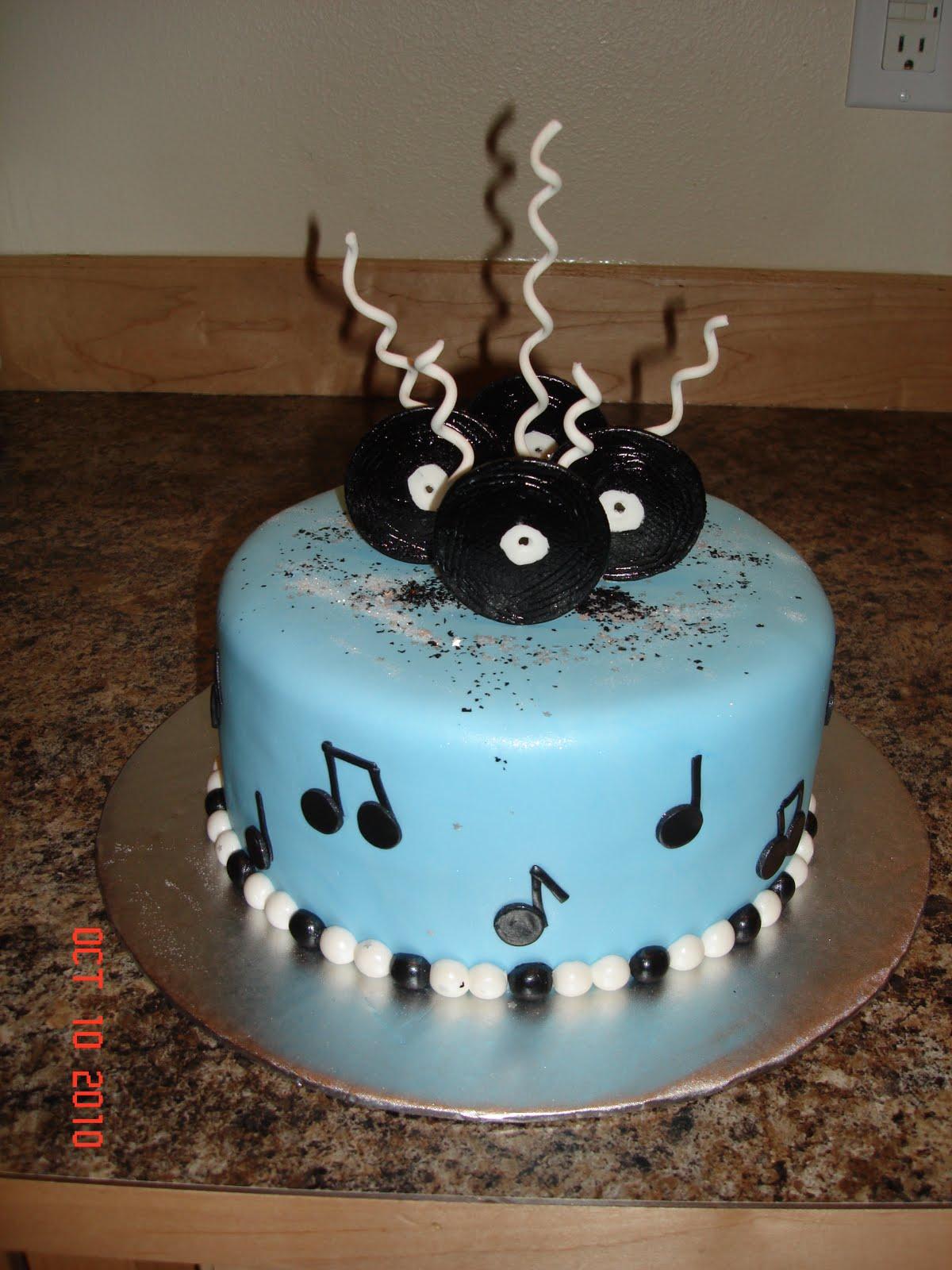 Cake Designs For Musicians Jpg 1200x1600
