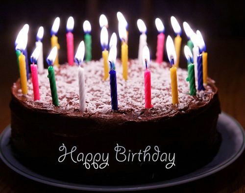 Candle Birthday Animated Cake