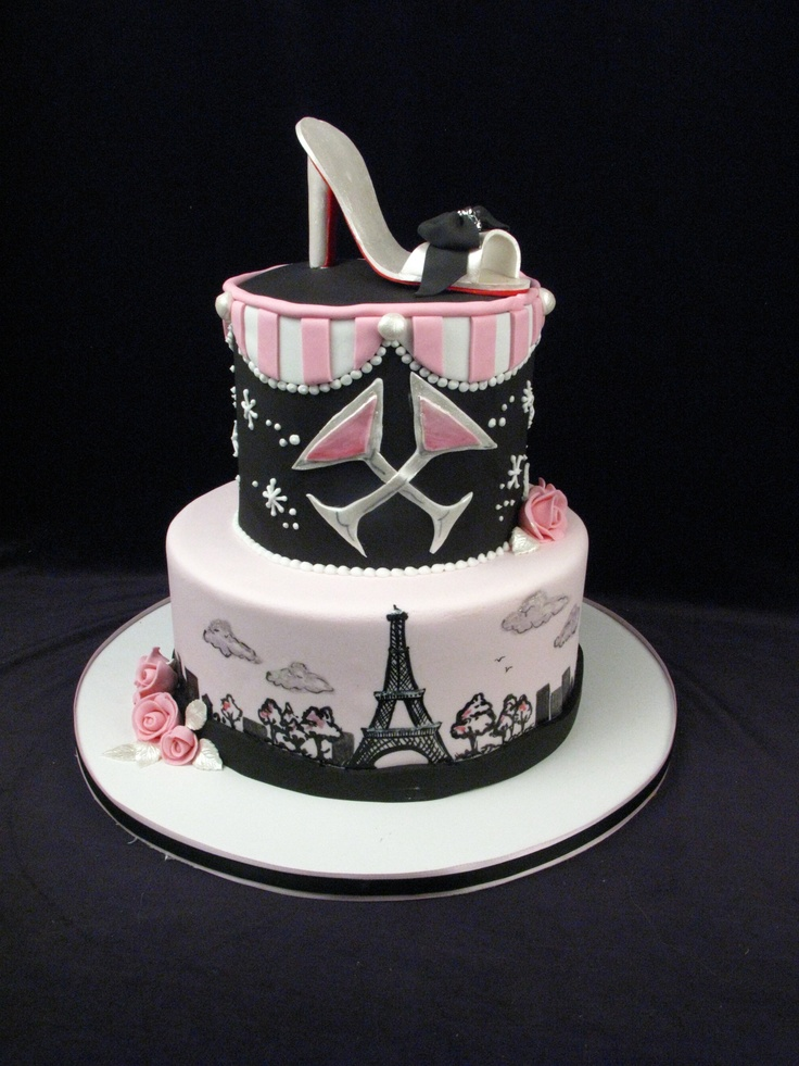 Shoes Birthday Cakes
