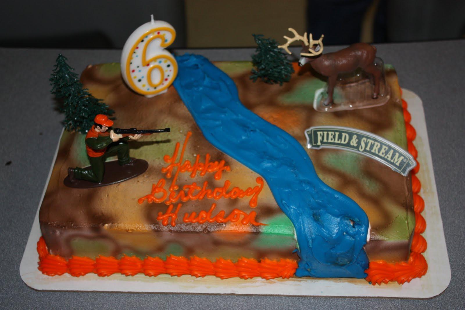 Hunting Birthday Cakes