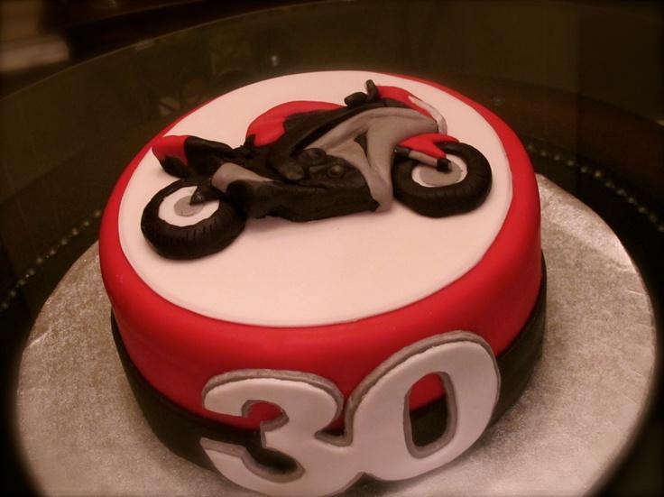 Motorbike Birthday Cake Template Chart Designs