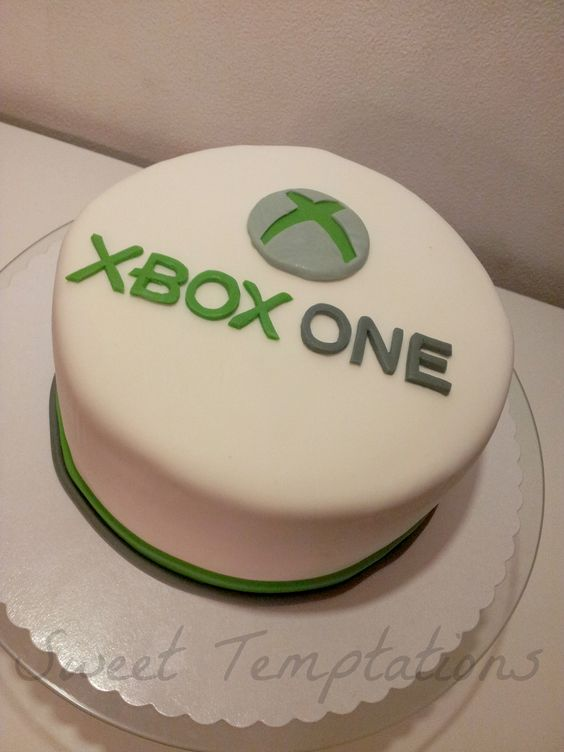 XBOX ONE Cake For The Release Date Of