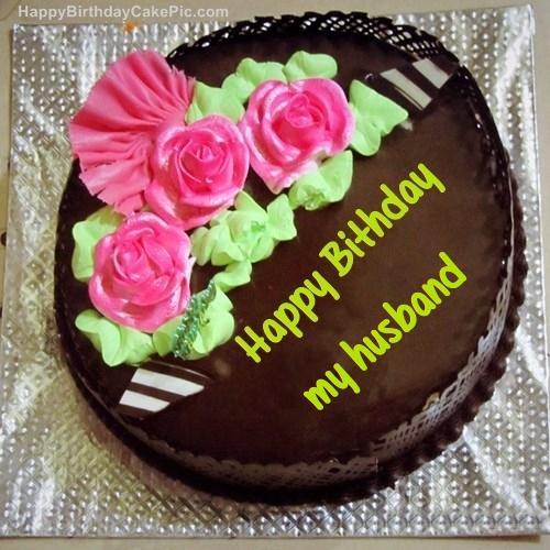 Chocolate Birthday Cake For My Husband