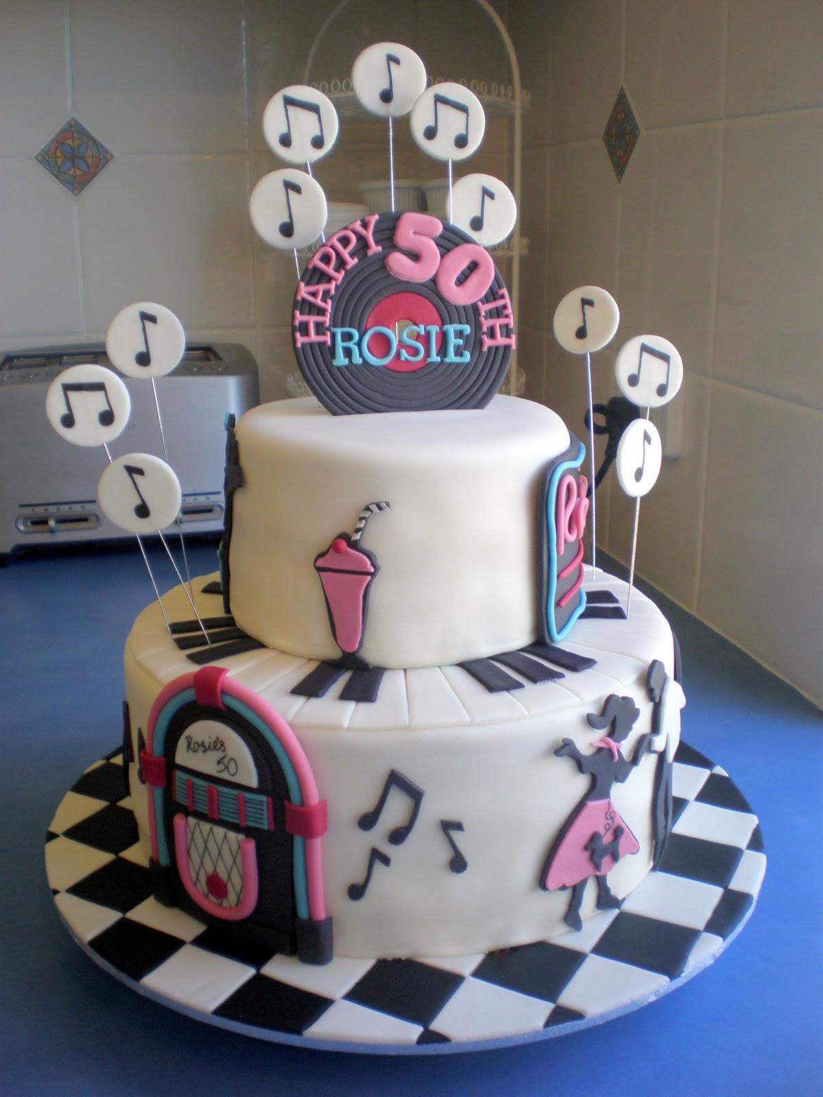 Sugar Siren Cakes Mackay Fabulous 50s Birthday Cake