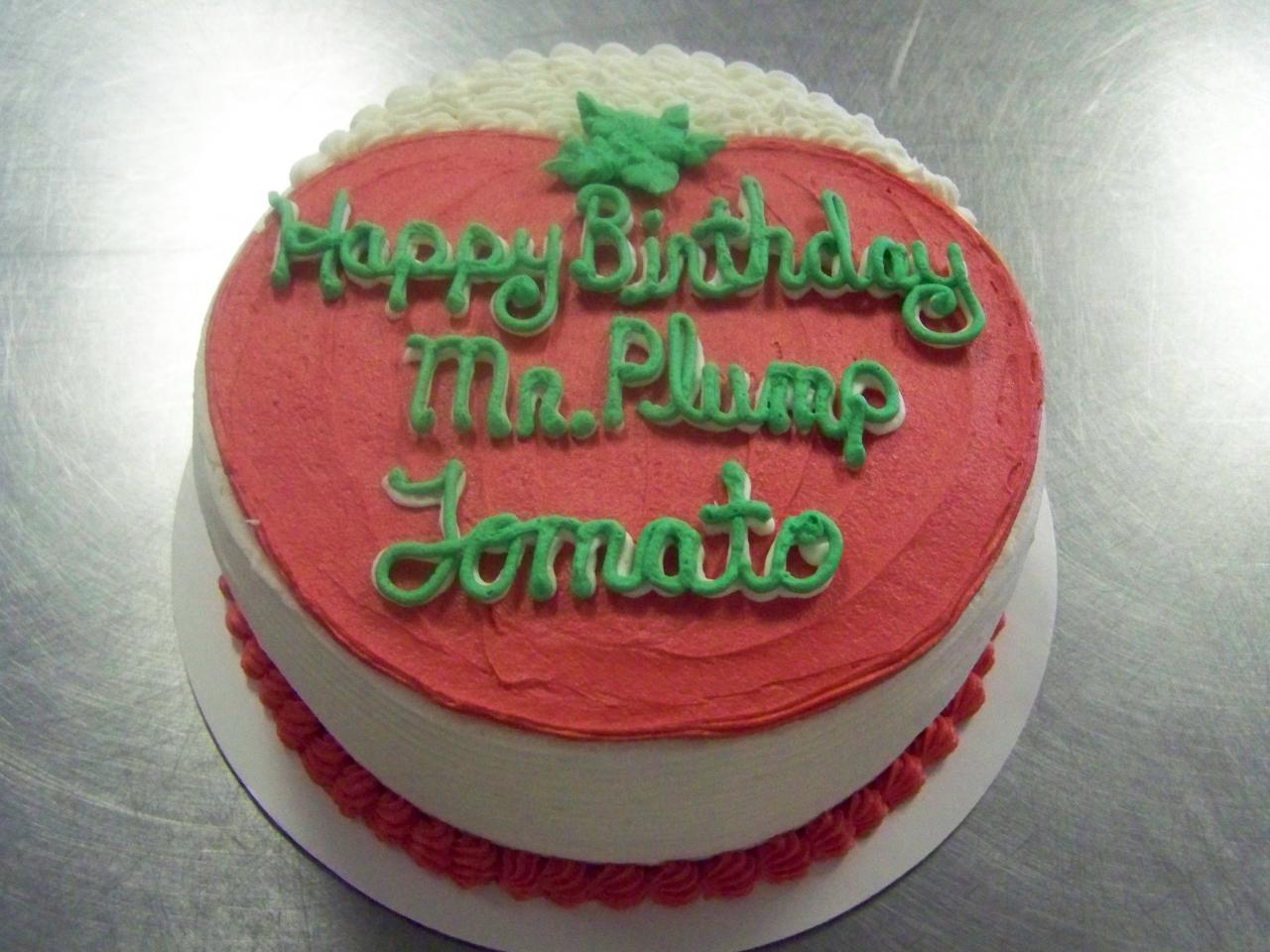 Tomato Birthday Cakes