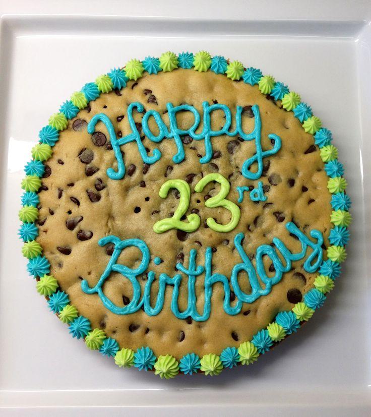 Cookie Birthday Cakes
