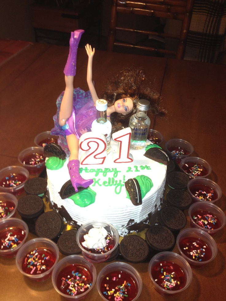 Liquor Birthday Cakes
