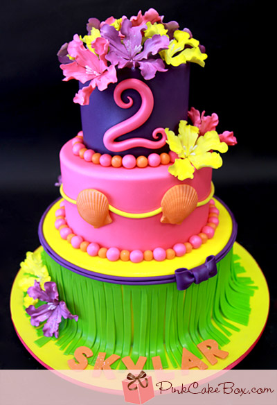 Skylars Bunny Birthday Cake Cakes