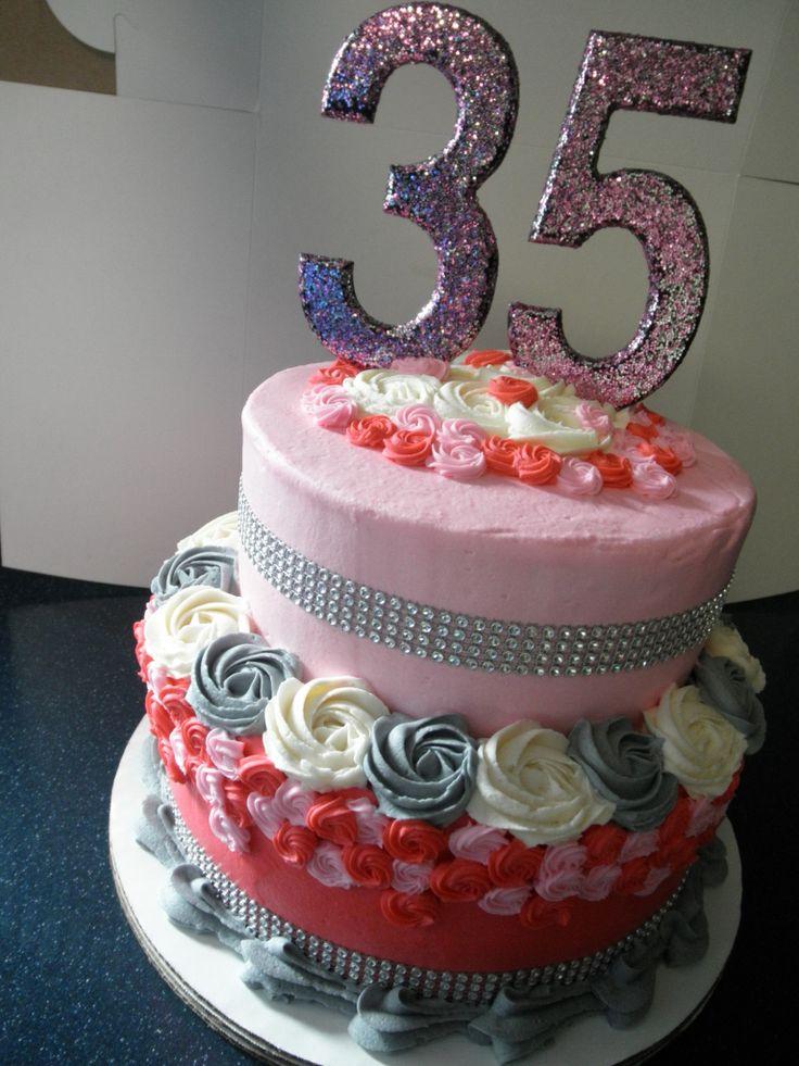 35Th Birthday Cakes