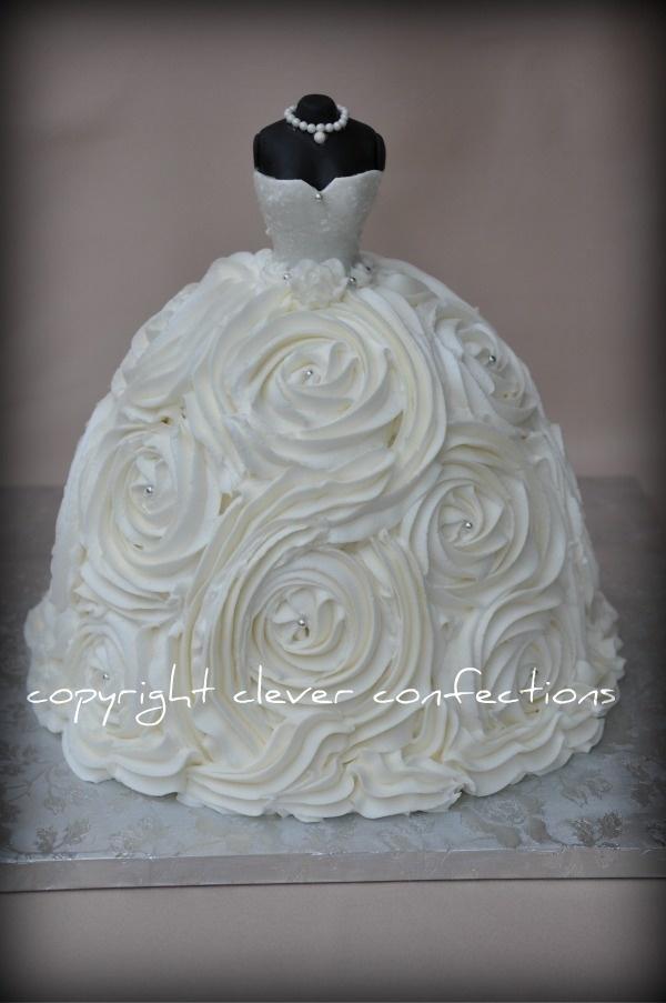 Dress Wedding Cakes