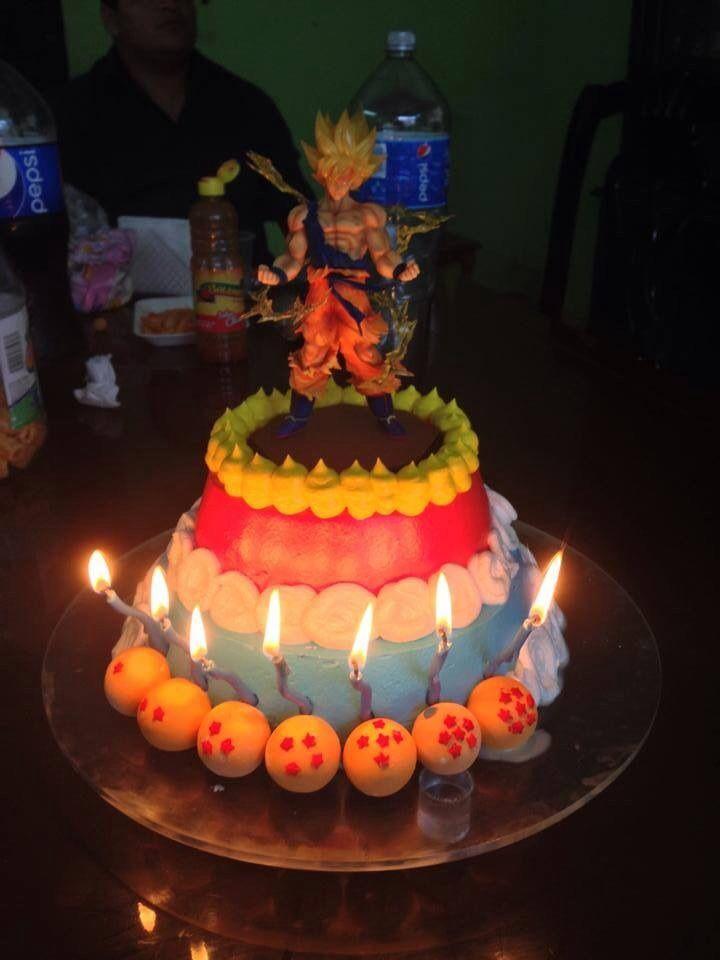 Vegeta Birthday Cakes