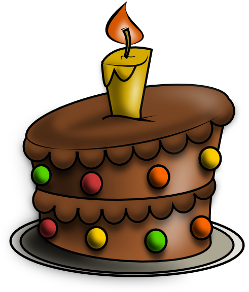 Clipart Birthday Cakes