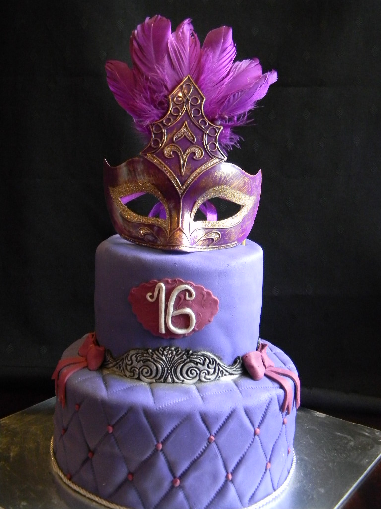Masquerade Birthday Cakes