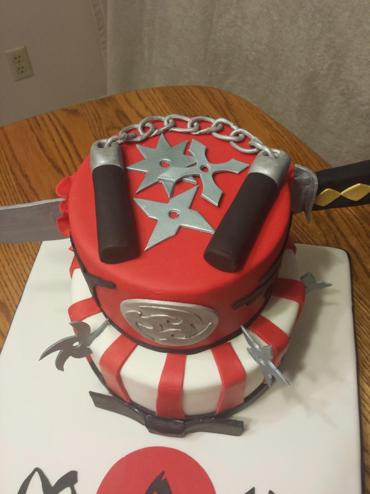 Ninja Birthday Cakes