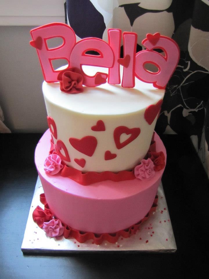 Valentines Birthday Cakes