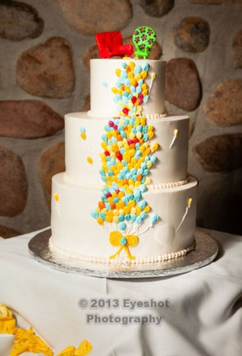 Up Wedding Cakes