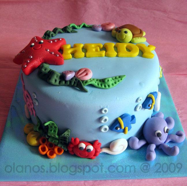 Ocean Themed Birthday Cakes MEMES