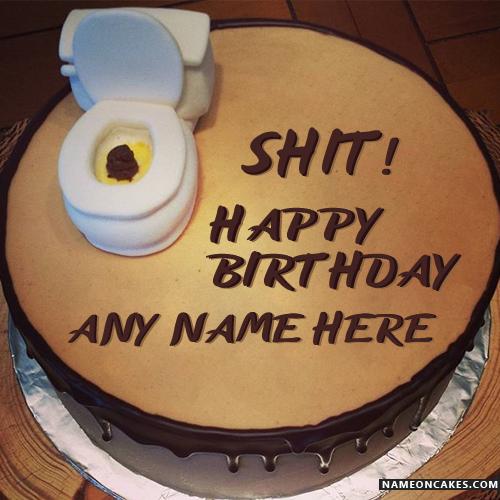 Shit Birthday Cakes