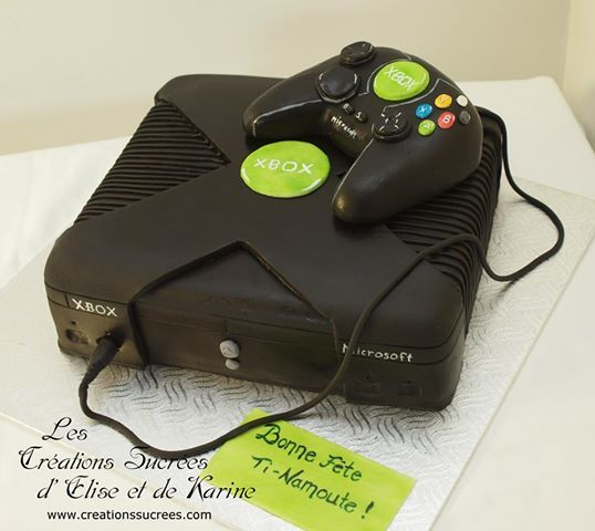 Xbox Cake By Creationssucrees Cakes