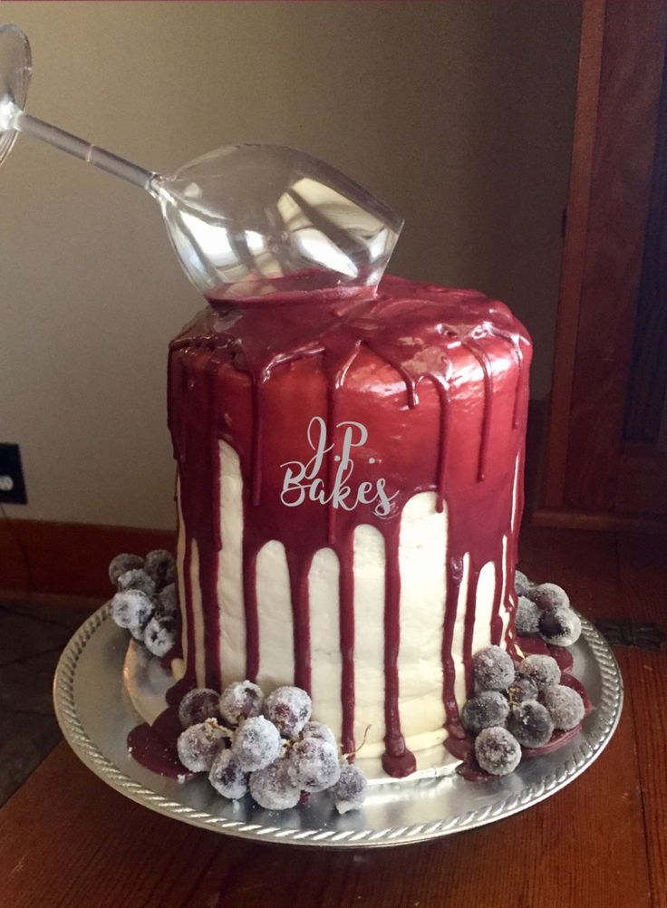 The 25 Best Birthday Cake Wine Ideas On Pinterest